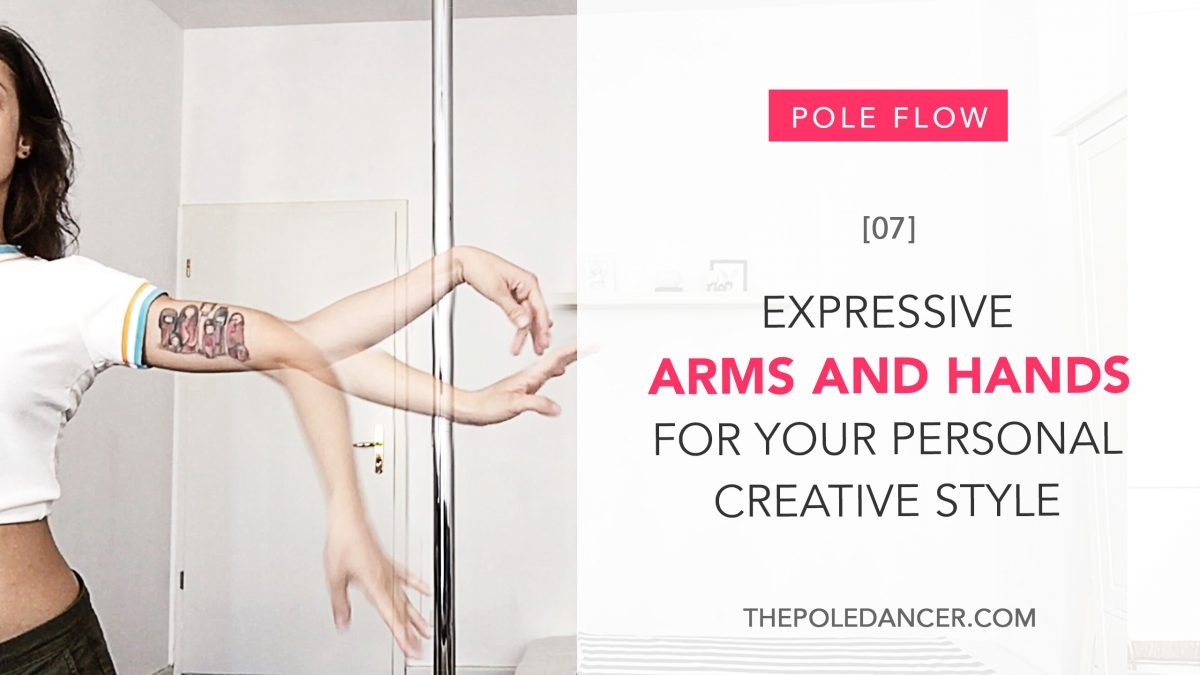 Expressive arms and hands for our personal creative styly