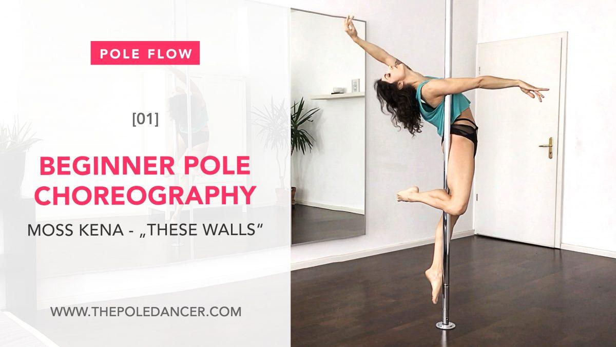 Beginner Pole Dance Choreography Moss Kena