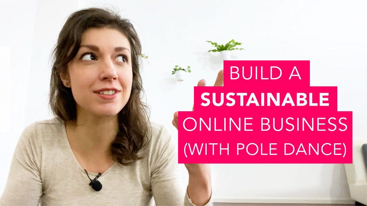 Online business pole dancing